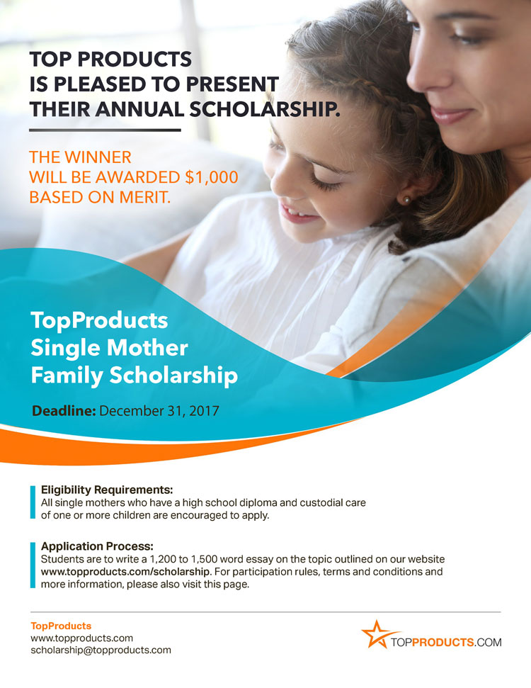single mother essay for scholarship